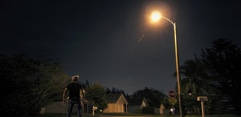 luz de la calle
